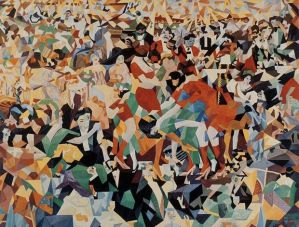 "Gino Severini, The Dance of the Pan-Pan at the ""Monico"", 1909-1911 / 1959-1960"